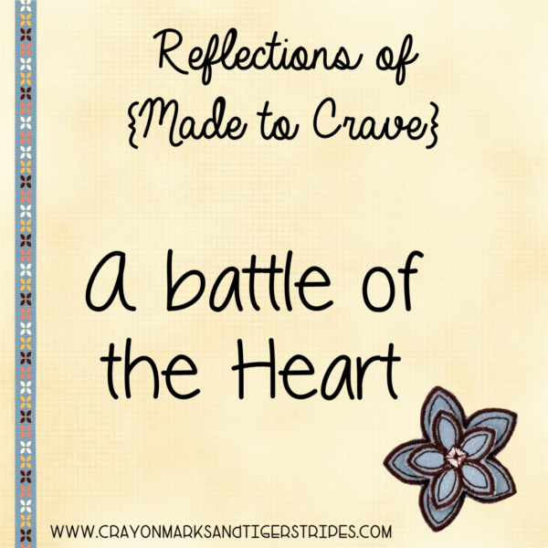 {Made to Crave} A Battle of the Heart