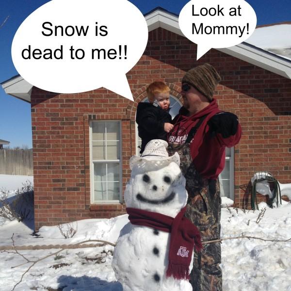 {Share your Life}  I love snow.  I hate snow.  I love snow.