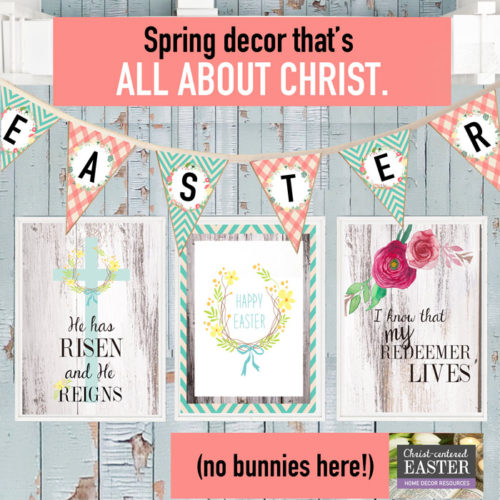 Christ Centered Home Decor