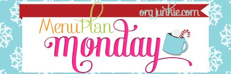 Menu Monday- December Week 1