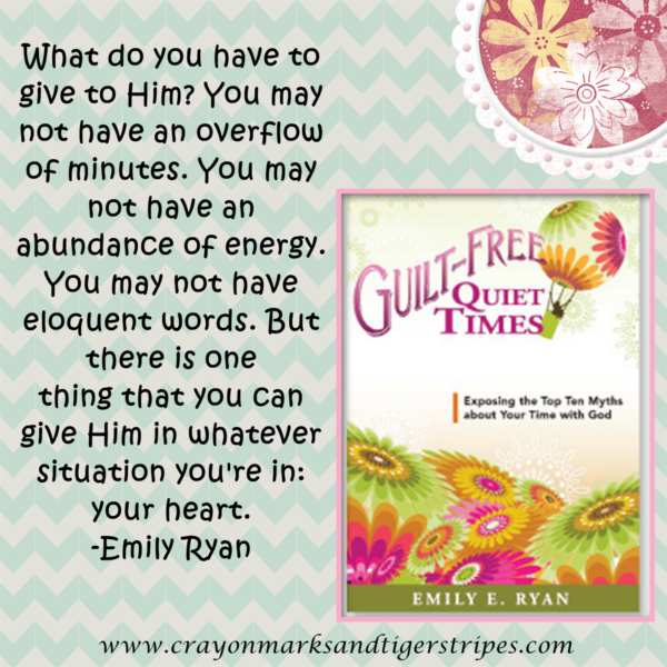 {Book Review} Guilt Free Quiet Times by Emily Ryan