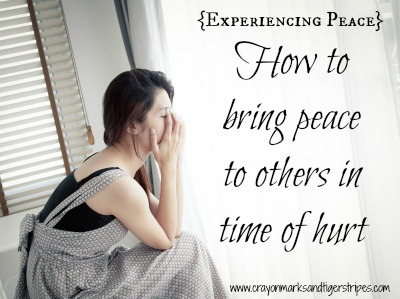 {Experiencing Peace}  Bringing Peace to Others