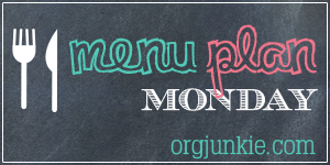 Menu Monday- June 2