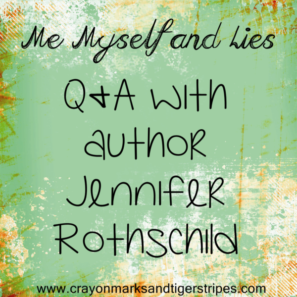 {Me, Myself and Lies} Q&A with Jennifer Rothschild