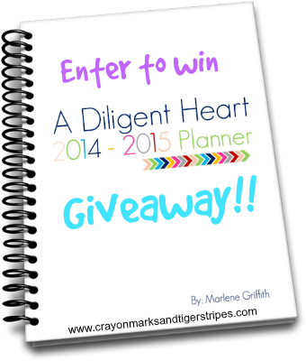 2014-2015 Planner Review and Giveaway!