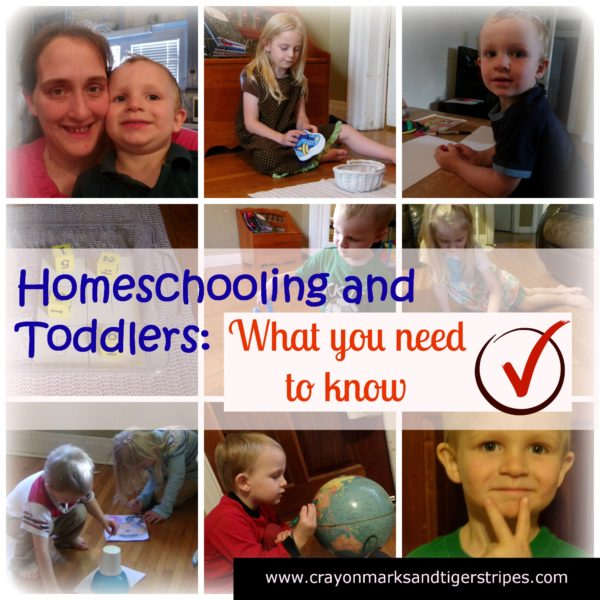 {Guest Post} Homeschooling and Toddlers: What you need to Know