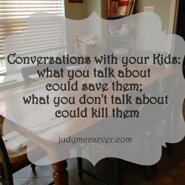 {Guest Post} Conversations with your kids