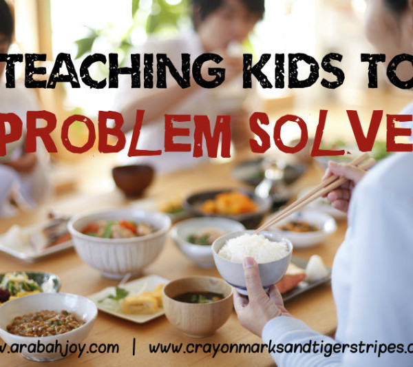 {Guest Post} Teaching Children to Work Hard and Problem Solve